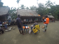 Drought Impact Assessment in the Schouten islands, Papua New Guinea