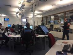 Working in the National Crisis Management Centre during the Kaikoura Earthquake response 2016
