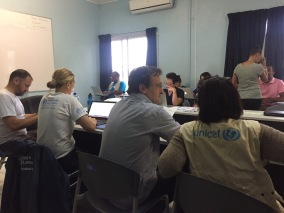 Health Cluster Meeting Cyclone Pam Response
