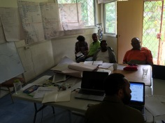 Drought Response Planning Oxfam in PNG office in Goroka