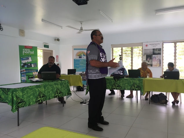 Cyclone response planning in Cook Islands